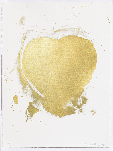Sam McEwen Heart Of Gold Print